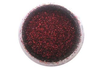 Scarlet Red Disco Dust 5 grammes - Baking and Decorating Lustre Dusts from Bakell