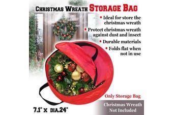 BenefitUSA Heavy Duty Christmas Wreath Storage Bag For 60cm Wreaths