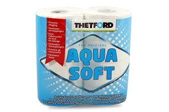 Thetford Aqua Soft Toilet Paper Ideal for Camping Toilets