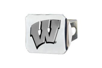 FANMATS NCAA University of Wisconsin Badgers Chrome Hitch Cover