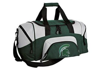Michigan State Small Duffle Bag MSU Spartans Gym or Overnight Duffel