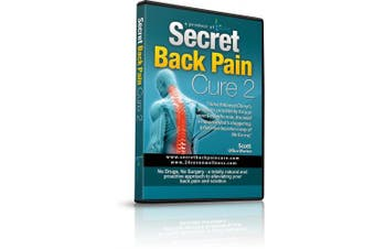 Secret Back Pain Cure 2 DVD by 24Seven Wellness and Living. Back Relief Strength Programme Designed to Promote Improved Stability and Posture. A Natural Programme for Relief of Lower, Upper and Neck Pain.