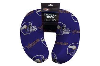 NFL Minnesota Vikings Beaded Spandex Neck Pillow
