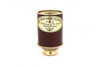 1915 Victorian Marine Telescope Ottway London Spyglass Royal Antique Look Vintage Pirate Solid Brass