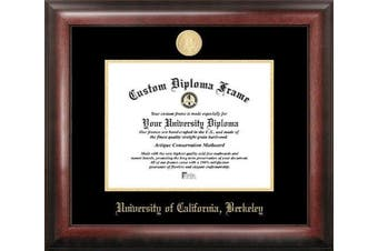 NCAA California Golden Bears Berkeley Gold Embossed Diploma Frame, Multicolor, One Size