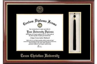 NCAA TCU Horned Frogs Tassel Box and Diploma Frame
