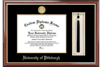 NCAA Pittsburgh Panthers Tassel Box and Diploma Frame