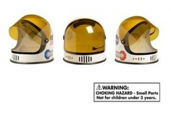 (Orange) - Aeromax Youth Astronaut Helmet with Movable Visor, Orange