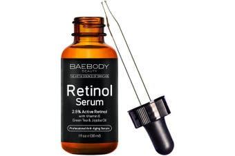 Baebody Retinol Serum 2.5% for Face