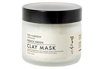 Fig + Yarrow French Green Clay Mask 60ml