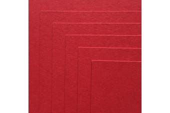 (Wild Cherry) - Wild Cherry Red Cardstock Paper - 30cm x 30cm 45kg. Heavyweight Cover - 25 Sheets from Cardstock Warehouse