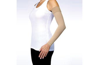 (2, Natural) - BSN Medical 102282 Jobst Bella Strong Armsleeve, 15-20 mmHg, Long, Size 2, Natural