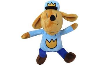 (Dav Pilkey's Dog Man Plush Toy by MerryMakers) - MerryMakers Dog Man Soft Plush Toy, 24cm , from Dav Pilkey's Dog Man Book Series