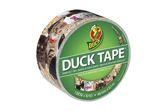 (Kitty Kitty) - Duck 241704 4.8cm x 10 yd Single Roll Printed Duct Tape