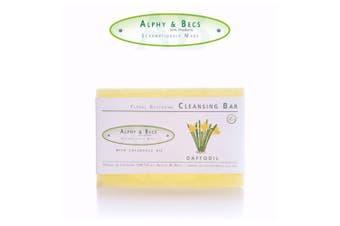 Glycerine Floral Fragrance Soap - With Calendula Oil - 100gr. - Daffodil