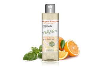 Organic Shampoo - Orange & Basil - Nourish and Hydrate - 200ml