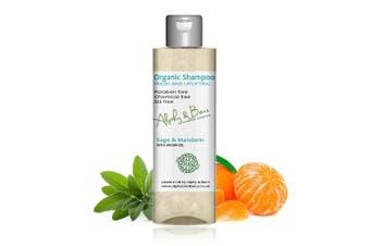 Organic Shampoo - Sage & Mandarin - Fresh and Uplifting - 200ml