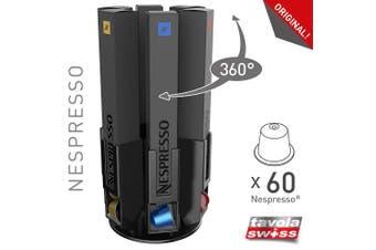 Tavola Swiss Capstore) 5049055 Capsule Dispenser Nespresso Pod Roulette Fits 6 x 10