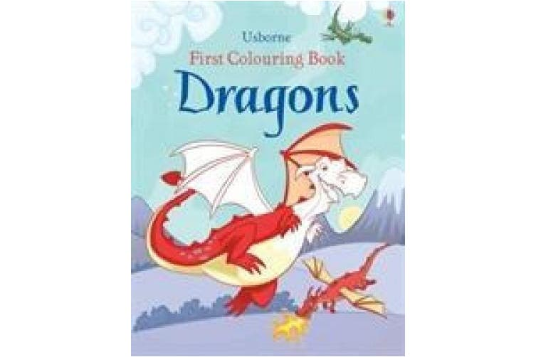 First Colouring Book Dragons (First Colouring Books with stickers)