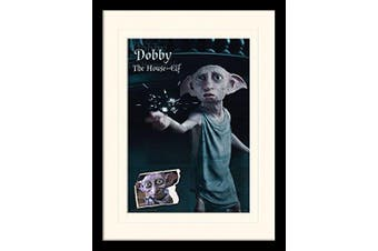 """(Dobby, Mounted and Framed) - Harry Potter """"Dobby"""" Mounted and Framed Print, 30 x 40 cm"""