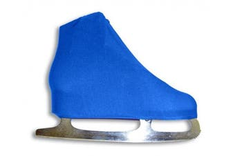 (Royal) - A & R Sports Lycra Ice Skate Boot Covers