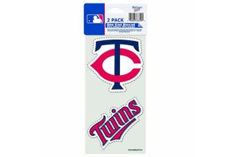 (Minnesota Twins) - MLB 2-Piece Die-Cut Decal, 10cm x 20cm