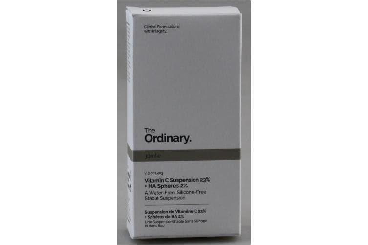 The Ordinary. Vitamin C SUSPENSION 23% + hialuronic acid Spheres 2% 30 ml