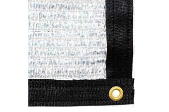 (6mX4.3m) - Be Cool Solutions™ - 70% Reflective Aluminet™ Shade Cloth - Caravan - 6mX4.3m