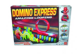 """Goliath 205760cm Domino Express"""" Amazing Looping 16 Game"""
