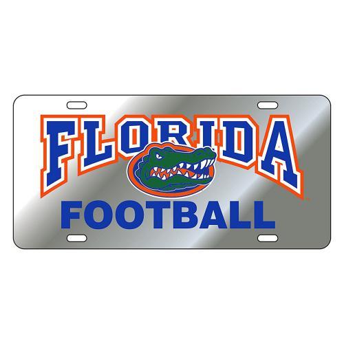 (SIL/REF FLORIDA FOOTBALL TAG (07081)) - Florida Gators Tag Colour: SIL/REF FLORIDA FOOTBALL TAG (07081) Florida Gators Tag