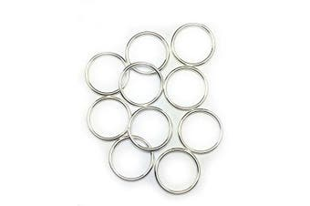 (15.5mm, 16 Gauge) - 10 Sterling Silver Round Open Jump Rings 15.5mm 16 Gauge by Craft Wire