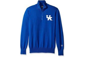 (Kentucky Wildcats, 3x-Large) - NCAA Boston University Terriers Men's Quarter Zip Sweater