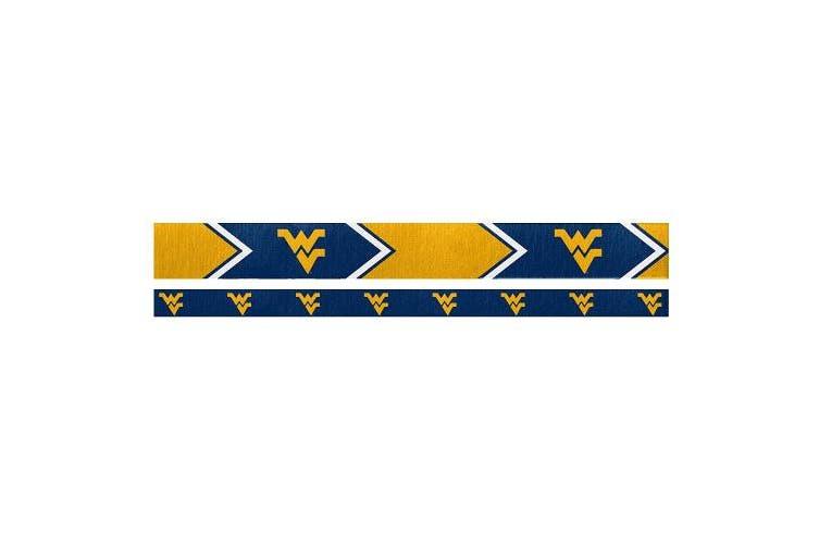 (West Virginia Mountaineers) - NCAA Headband Set