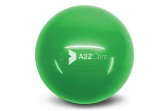 (Green (4lbs)) - A2ZCare Toning Ball - Soft Weighted Mini Ball / Medicine Ball