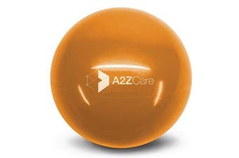 (Red (6lbs)) - A2ZCare Toning Ball - Soft Weighted Mini Ball / Medicine Ball