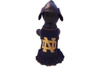 (Tiny) - NCAA Notre Dame Fighting Irish Dog Cheerleader Dress