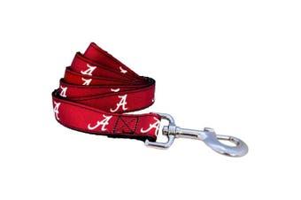 (Small) - NCAA Alabama Crimson Tide Dog Leash (Team Colour)