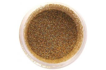 Gold Hologram Disco Dust Glitter 5 grammes - Baking and Decorating Lustre Dusts from Bakell