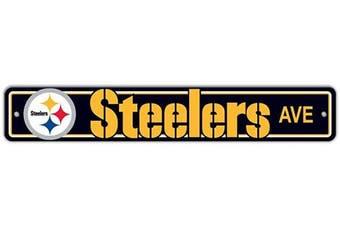 (Pittsburgh Steelers, 10cm  x 60cm , Street Sign) - Fremont Die NFL Arizona Cardinals Stop Sign