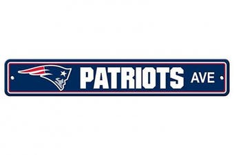 (New England Patriots, 10cm  x 60cm , Street Sign) - Fremont Die NFL Arizona Cardinals Stop Sign