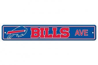(Buffalo Bills, 10cm  x 60cm , Street Sign) - Fremont Die NFL Arizona Cardinals Stop Sign