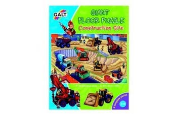 Galt Toys Galt Toys Giant Floor Puzzle Contruction Site