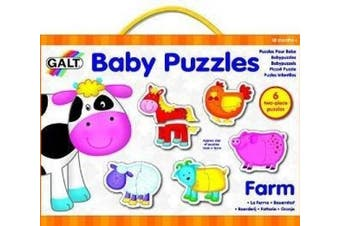 (1, Normal) - Baby Puzzles Farm by Galt Toys Inc