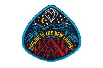 (Offline is The New Luxury) - Asilda Store Embroidered Sew or Iron-on Patch (Offline is The New Luxury)