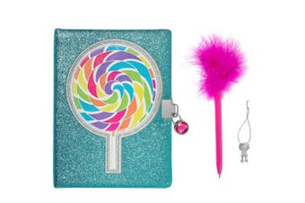 3C4G Lollipop Glitter Locking Journal (36177)