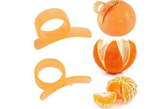 (2) - Affordable Orange Peeler Tool, Citrus Fruit Slicer, Kitchen Gadget (2)