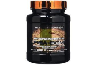 (Passion Fruit) - Scitec Nutrition Crea-Bomb Multi-Component Creatine Matrix Powder - 660g, Passion Fruit