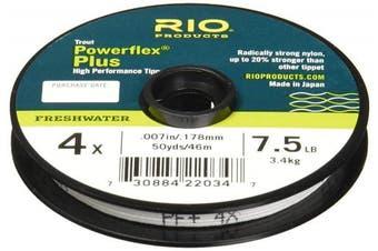 (0X/8.2kg) - RIO Products Powerflex Plus Tippet