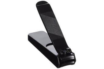 kiya nail clipper black steel nail clipper