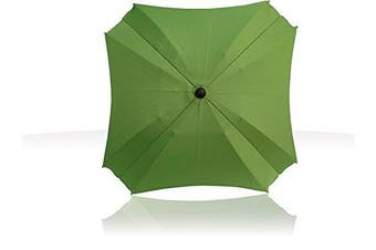 (Green) - Universal Pram Sun Parasol with Flexible Arm, Parasol with UV Protection, Diameter 68 cm,